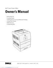 dell 3100cn owner s manual pdf download rh manualslib com Dell 3100Cn Toner Dell 3010Cn Printer Installation Software