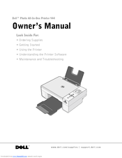 Dell 944 Owners Manual Pdf Download