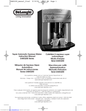delonghi magnifica coffee machine troubleshooting