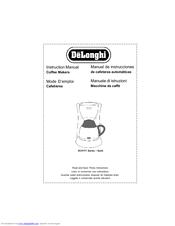delonghi magnifica instruction manual