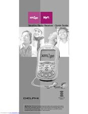 delphi xm2go myfi sa10113 manuals rh manualslib com Delphi XM2GO Car Cradle Delphi XM Radio Accessories