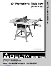 Delta Professional Table Saw - Table Design Ideas