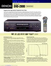 denon dvd 2800 manuals rh manualslib com Denon Dvd- 2900Forsale Denon Dvd- 2900Forsale