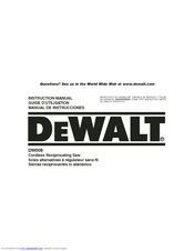 DeWalt DW9116 Instruction Manual