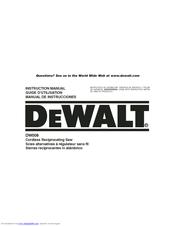 DeWalt DW9116 Instruction Manual