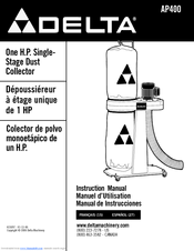 Delta AP400 Instruction Manual