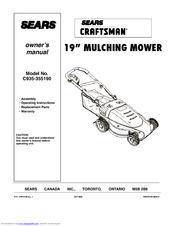 Craftsman C935-355190 Owner's Manual