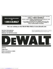 dewalt dw744 manuals rh manualslib com De Walt DW745 De Walt DW745