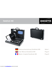 Dicota DataDesk 460 User Manual