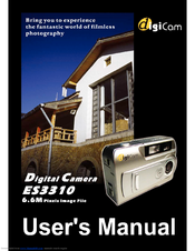 Digicom DIGICAM ES3310 User Manual
