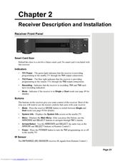 Dish network 625 dvr user manual.