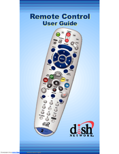 dish network 6 4 manuals rh manualslib com dish network user guide remote control Dish Network Remote Set Up