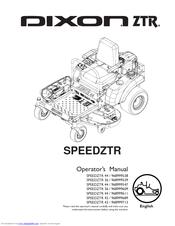 dixon speedztr ztr 42 operator's manual