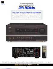 denon avr 3600 manuals rh manualslib com denon 3808 user manual denon avr-3808 manual pdf