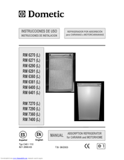 dometic rmd 8555 service manual