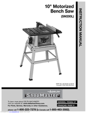 Delta SHOPMASTER SM200L User Manual