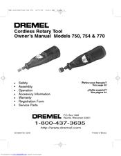 dremel 770 manuals rh manualslib com  Costom Dremel Guide
