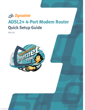 Dynalink ADSL2 4-Port Modem Router (RTA1335) Driver