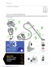 dyson dc23 turbinehead manuals rh manualslib com dyson dc23 animal canister vacuum manual dyson dc23 user manual