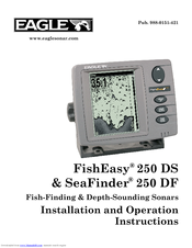 Eagle FishEasy 250 DS Installation And Operation Instructions Manual