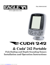 Eagle CUDA 242 - ADDITIONNAL Installation And Operation Instructions Manual