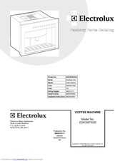 Electrolux E24CM75GS Factory Parts Catalog