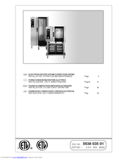 Electrolux 269085 Installation, Operation And Maintenance Manual