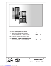 Electrolux Air-O-Steam 267550 Installation, Operation And Maintenance Manual
