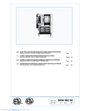 Electrolux Air-O-Speed AOW101E Installation And Operation Instruction Manual