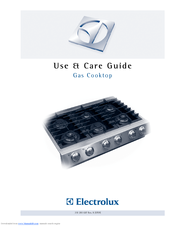 Electrolux ICON Professional E36GC76GPS Use And Care Manual