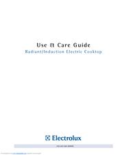 Electrolux 318 203 603 (0709) Use And Care Manual