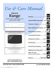 Electrolux ES200 Use And Care Manual