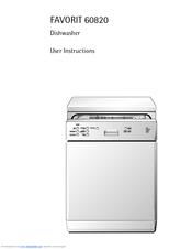 aeg favorit 60820 manuals rh manualslib com aeg favorit dishwasher service manual aeg favorit dishwasher troubleshooting