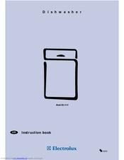 electrolux esl 4115 manuals rh manualslib com Electrolux Dishwasher Parts Electrolux Frt21il4fw4