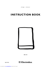 Electrolux ERU 13400 Instruction Book
