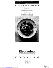 Electrolux 4061 Impressionist Instruction Manual