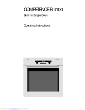 AEG COMPETENCE B 4100 Operating Instructions Manual