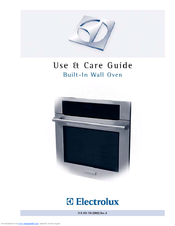 electrolux e30ew75g icon 30 in wall oven manuals rh manualslib com electrolux icon user manual electrolux icon stove manual