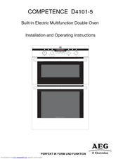 Aeg Electrolux Competence D4101 5 Manuals