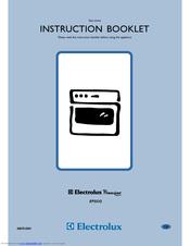 electrolux premier epsog manuals rh manualslib com electrolux premier fan oven manual electrolux premier electric oven manual