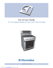 Electrolux 316520001 Use And Care Manual