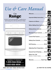 Electrolux ES510L Use & Care Manual