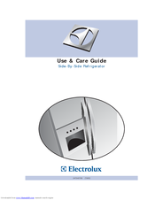 electrolux side by side refrigerator manuals rh manualslib com Electrolux Double Drawer Refrigerator electrolux side by side refrigerator service manual