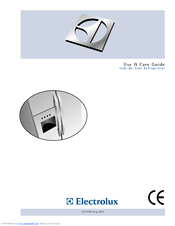 electrolux side by side refrigerator manuals rh manualslib com Electrolux Icon Refrigerator Electrolux Icon Refrigerator