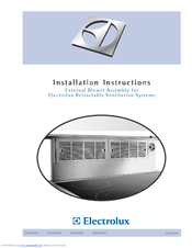 Electrolux Icon E48DD75ESS Installation Instructions Manual