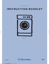 electrolux u27381 ew 1013 i manuals rh manualslib com Electrolux Icon Dishwasher Manual Electrolux Dishwasher Installation Manual