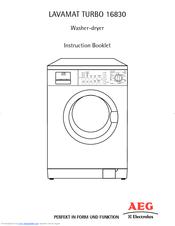 aeg electrolux lavamat turbo washer dryer manual