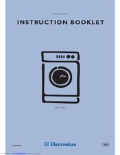 ELECTROLUX EWD 1409 I INSTRUCTION BOOKLET Pdf Download