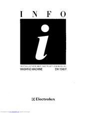 electrolux ew 1548 f manuals rh manualslib com