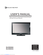 Page 24 of element electronics flat panel television flx-3210 user.